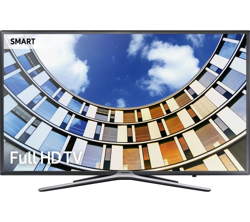 "SAMSUNG 49M5500 49"" Smart LED TV + S1HDM315 HDMI Cable with Ethernet - 1 m"