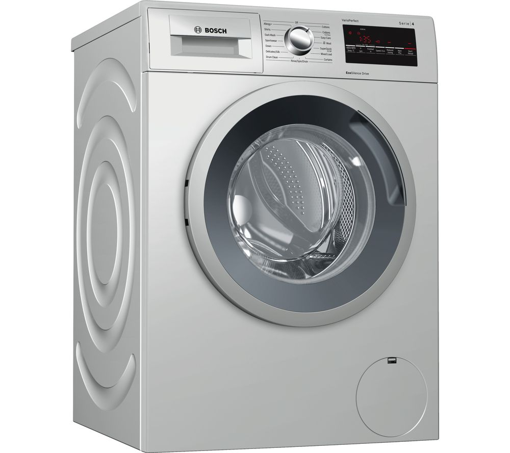 buy bosch serie 4 wan282x0gb 8 kg 1400 spin washing machine inox free delivery currys. Black Bedroom Furniture Sets. Home Design Ideas