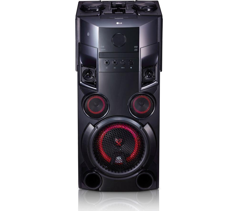 LG LOUDR OM5560 Wireless Megasound Hi-Fi System - Black