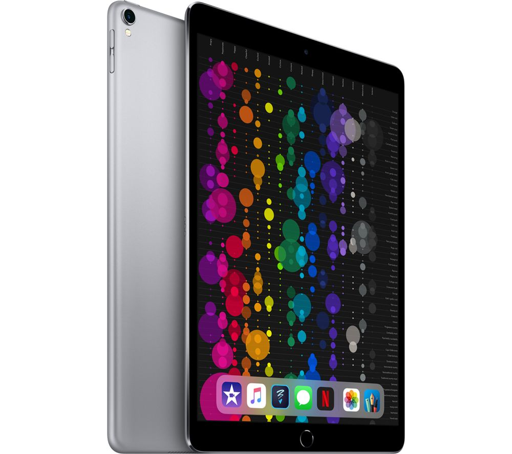 "APPLE 10.5"" iPad Pro - 256 GB, Space Grey (2017)"