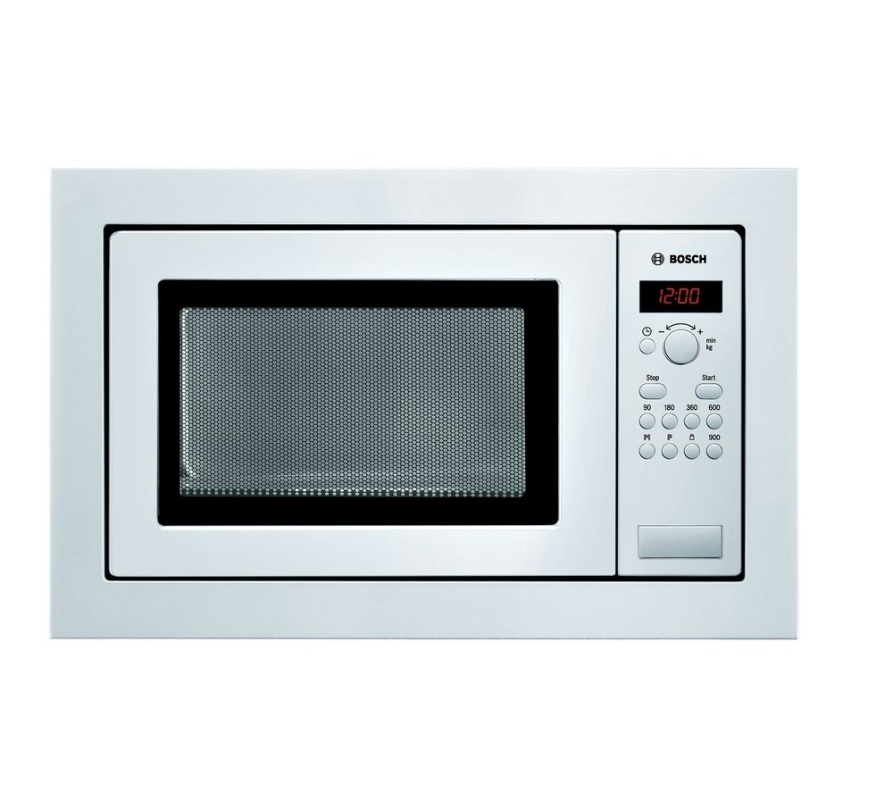 buy bosch hmt84m621b built in solo microwave white free delivery currys. Black Bedroom Furniture Sets. Home Design Ideas