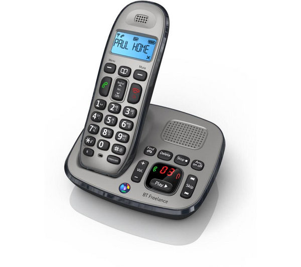 bt freelance xd8500 cordless phone with answering machine. Black Bedroom Furniture Sets. Home Design Ideas