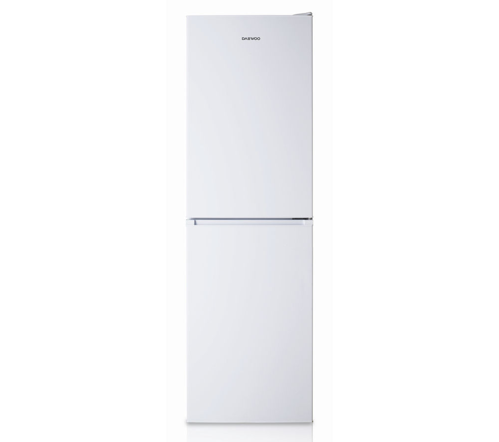 DAEWOO  DFF470SW Fridge Freezer – White +  DCX83100W Condenser Tumble Dryer - White