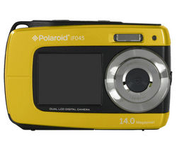 POLAROID IF045 Tough Compact Camera - Yellow
