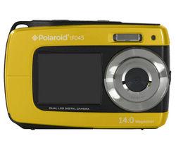 POLAROID IF045 Tough Compact Camera - Yellow