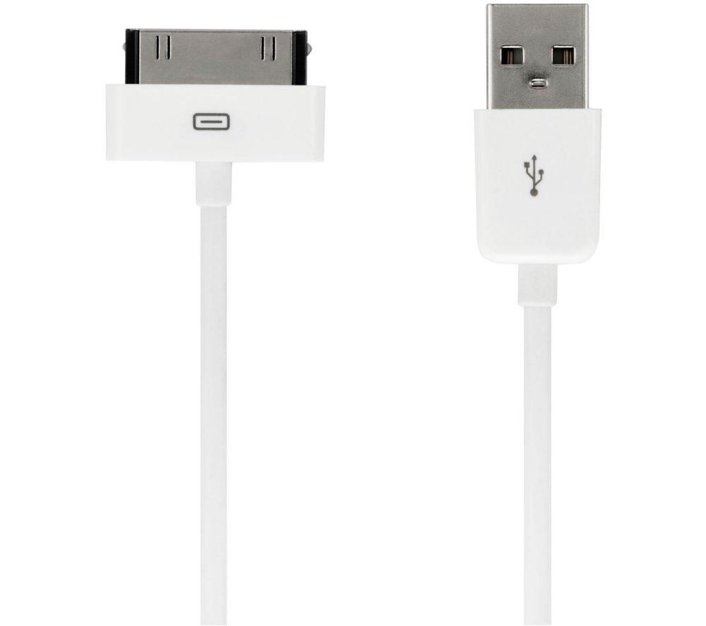 IWANTIT IIPC1214 Sync & Charger USB to 30-Pin Cable - 1.2 m