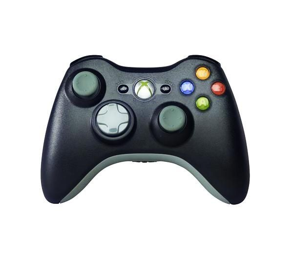 MICROSOFT Black Wireless Controller - for Xbox 360