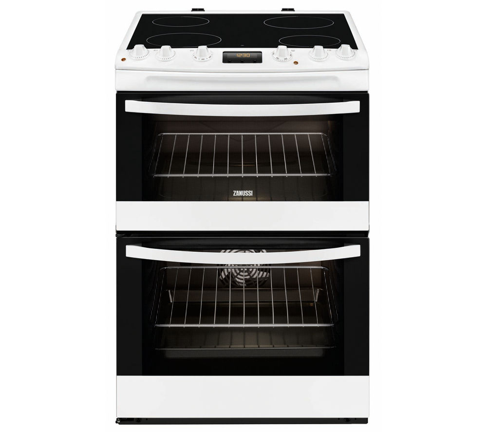 ZANUSSI ZCV66330WA Electric Ceramic Cooker - White