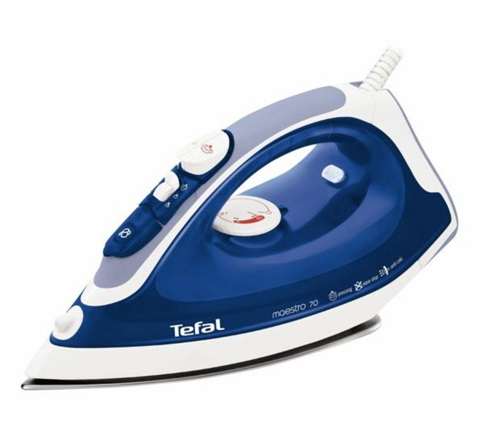 Tefal FV3770 Steam Iron  Blue Blue