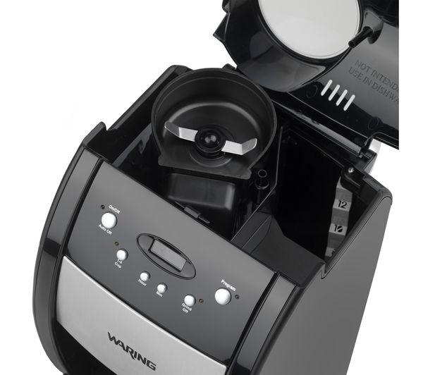 WARING WGB550U Bean-to-Cup Coffee Maker - Black & Stainless Steel