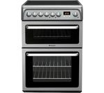 HOTPOINT HAE60GS Electric Ceramic Cooker - Graphite