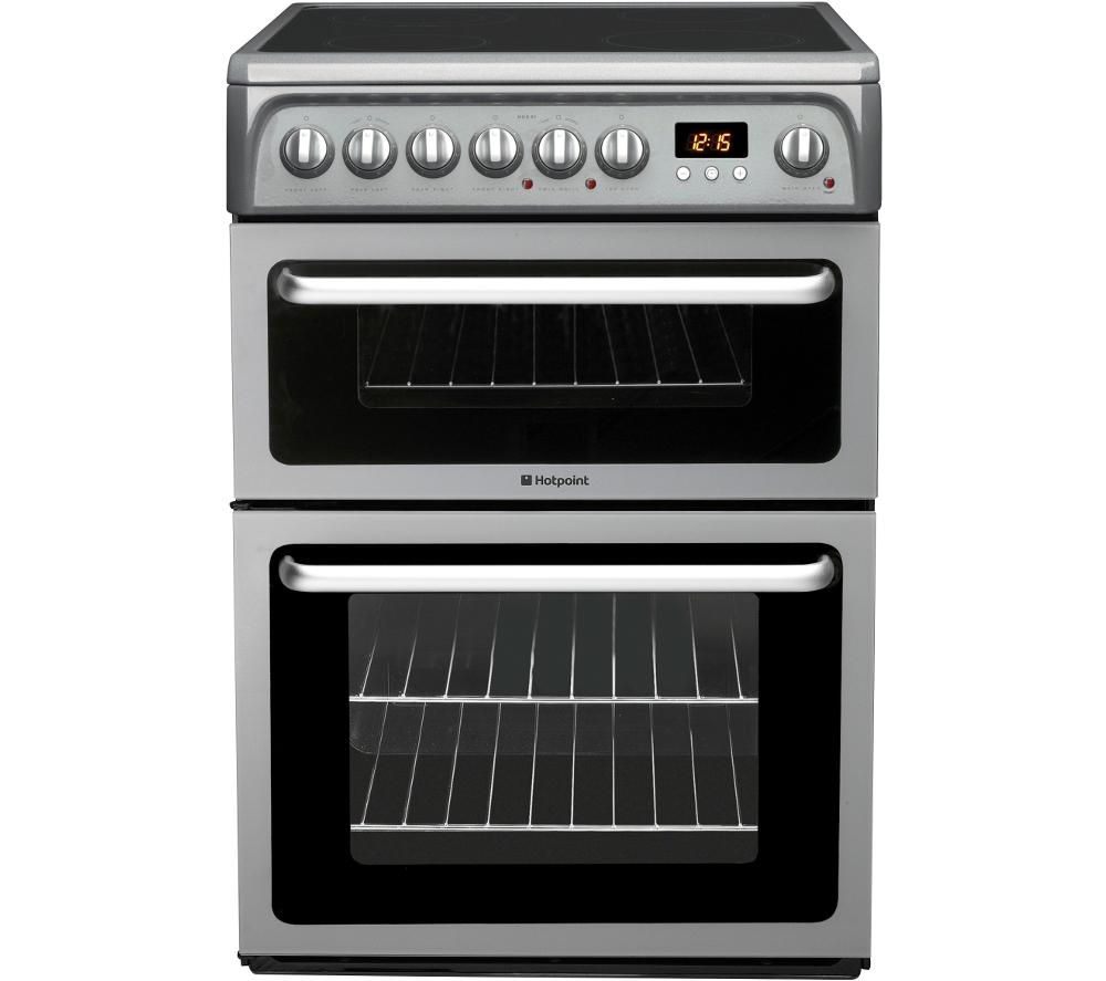 Buy HOTPOINT HAE60GS Electric Ceramic Cooker - Graphite