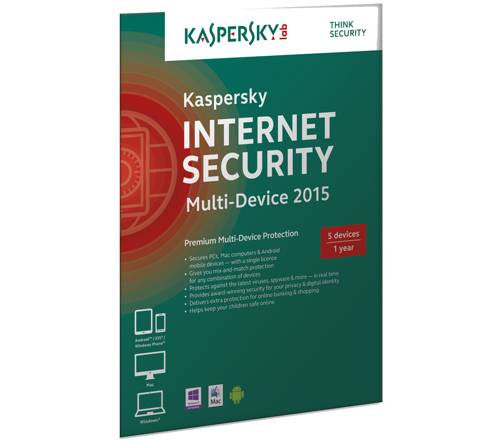 kaspersky internet security multi device 2015. Black Bedroom Furniture Sets. Home Design Ideas