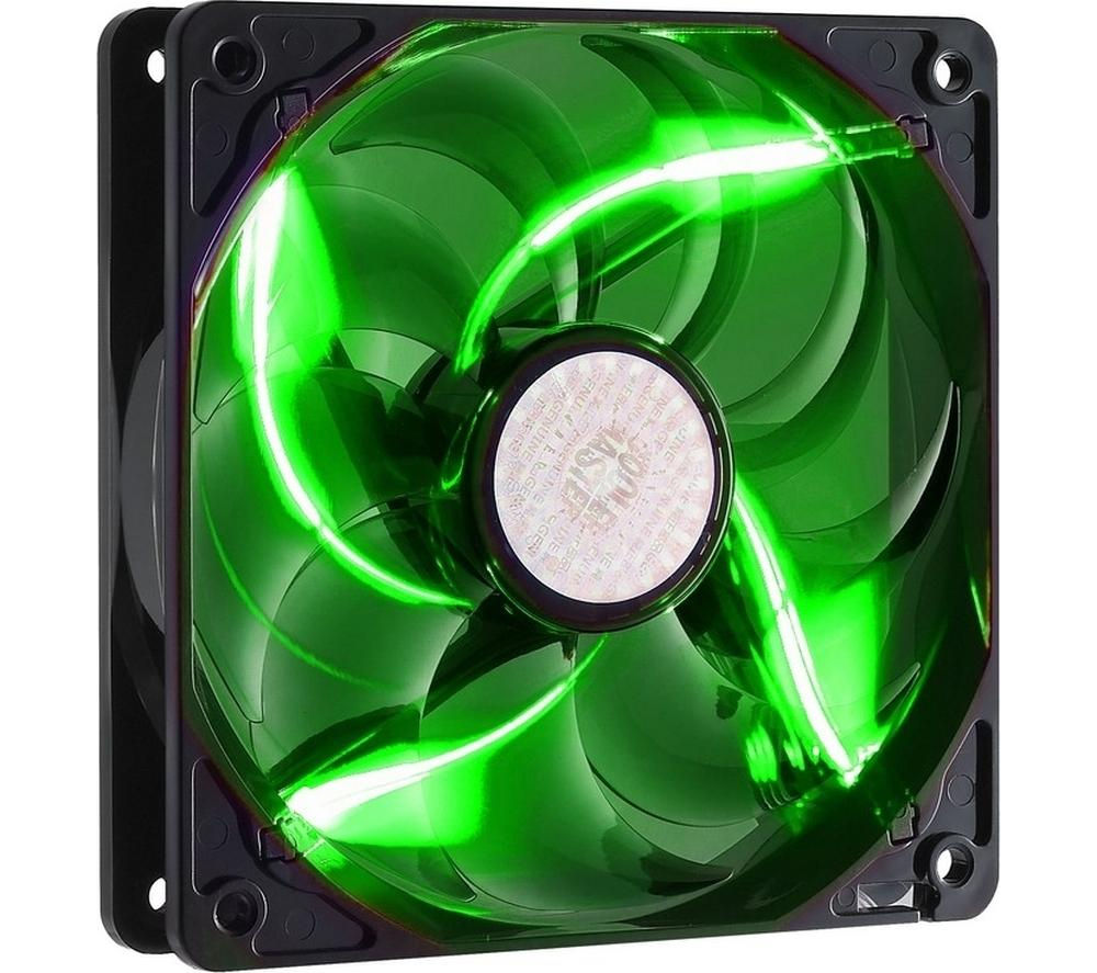 Image of COOLERMASTER SickleFlow R4-L2R-20AG-R2 120 mm Case Fan - Green LED, Green