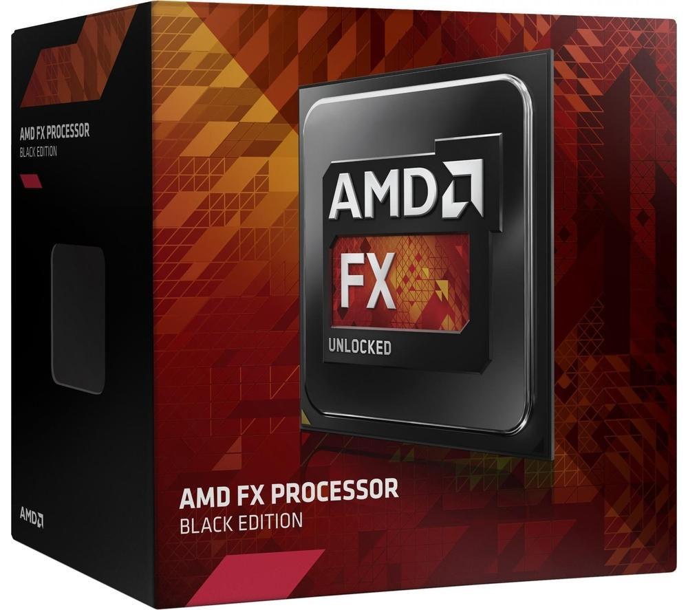Amd FX-8370 Black Edition CPU - Retail, Black