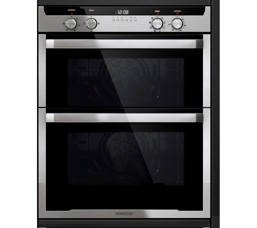 Under Counter Microwave For Easier Works: Buy KENWOOD KD1701SS Electric Built-under Double Oven