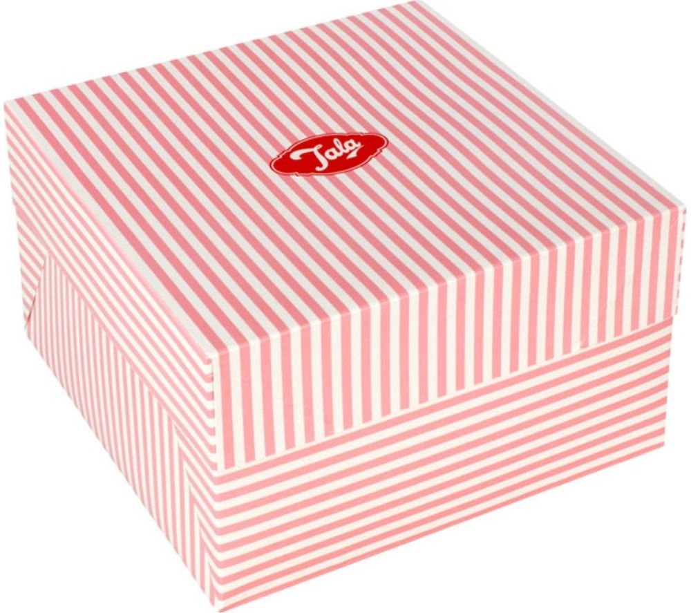 "TALA Originals 10"" Cake Box - Pink Candy Stripe"