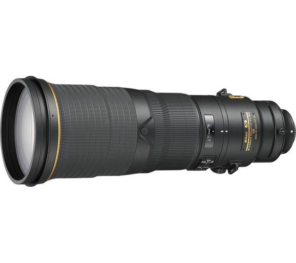 Image of NIKON 500 mm f/4 G IF-ED AF-S VR NIKKOR Telephoto Prime Lens