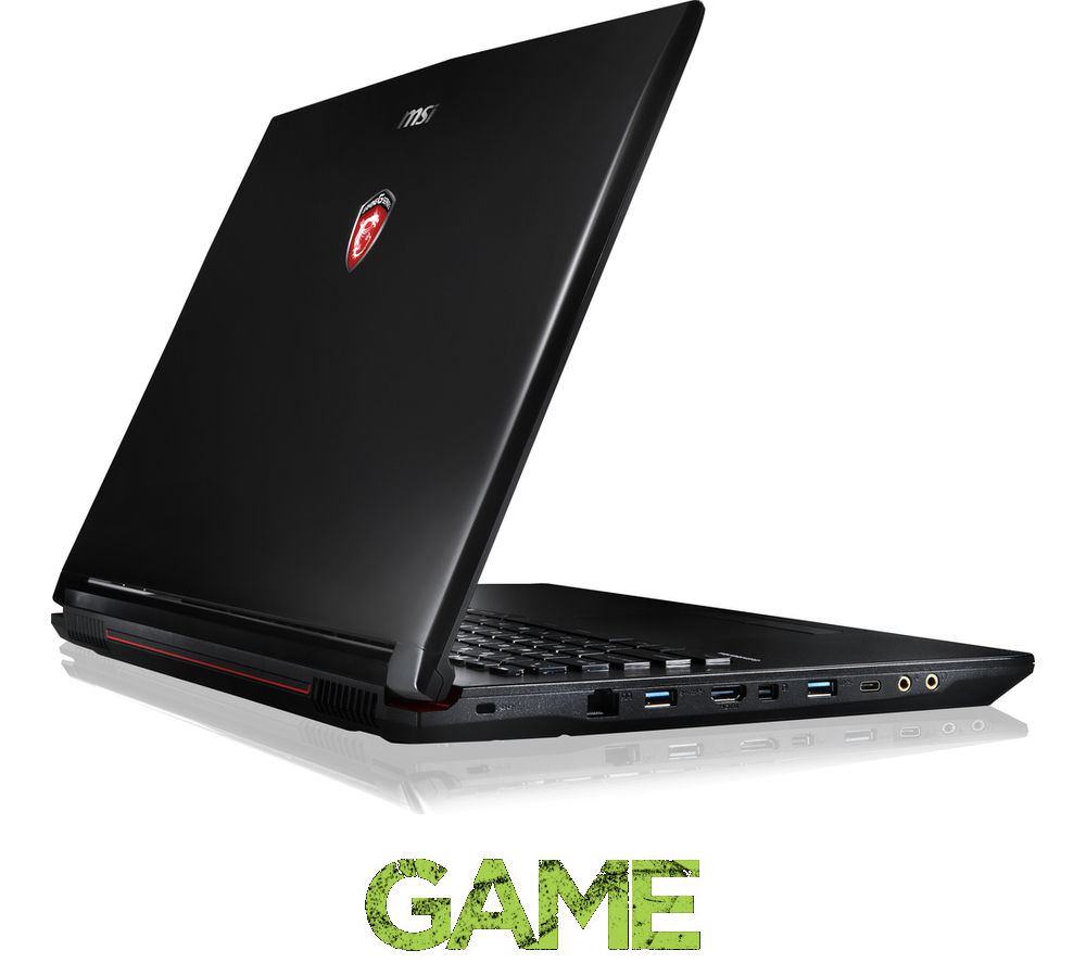 "MSI Leopard Pro GP72 6QF 263UK 17.3"" Gaming Laptop - Black"