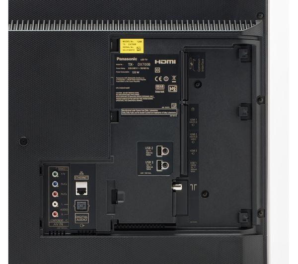buy panasonic viera tx 50dx700b smart 4k ultra hd hdr 50 led tv sc htb680ebk 3 1 wireless. Black Bedroom Furniture Sets. Home Design Ideas