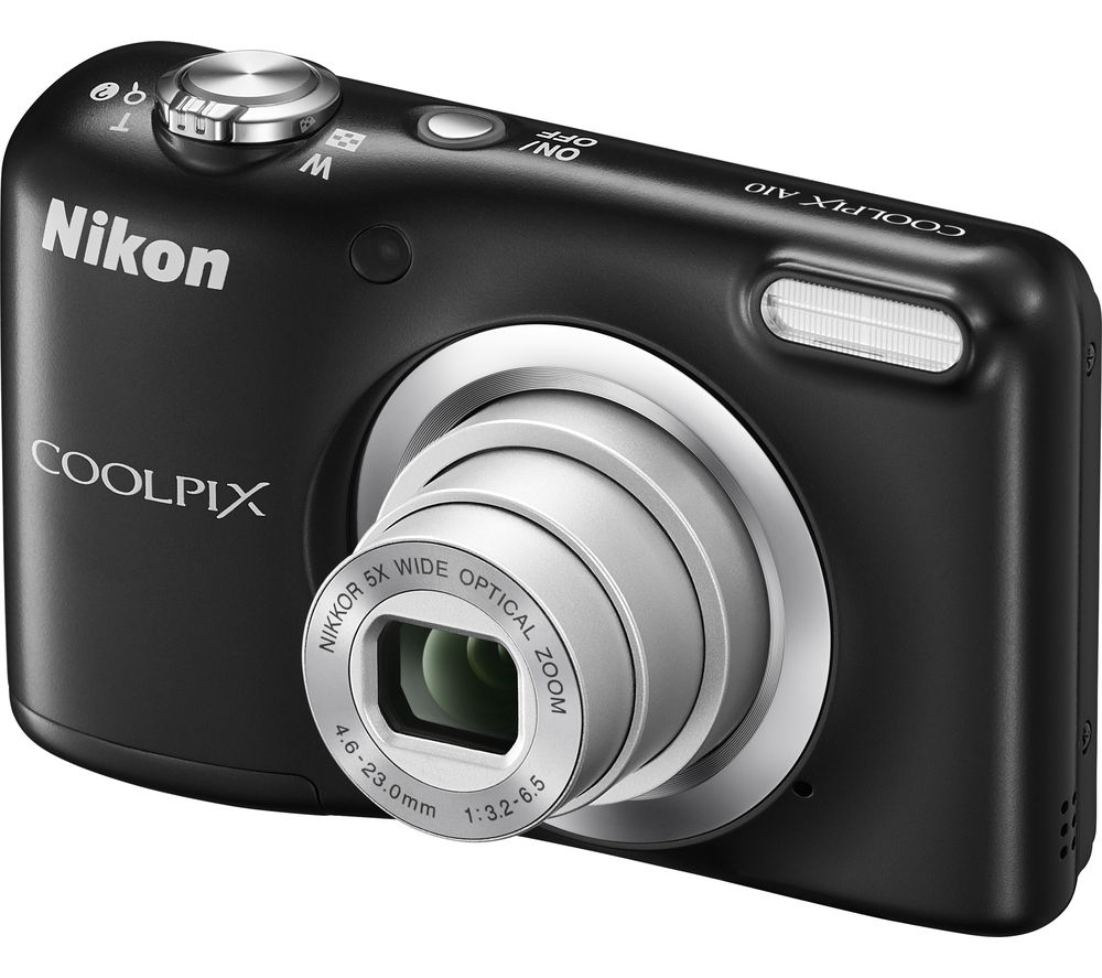 NIKON COOLPIX A10 Compact Camera - Black