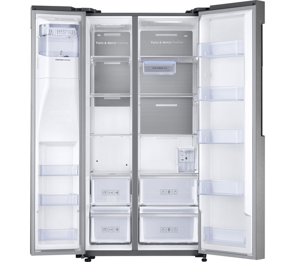 how to clean stainless steel fridge