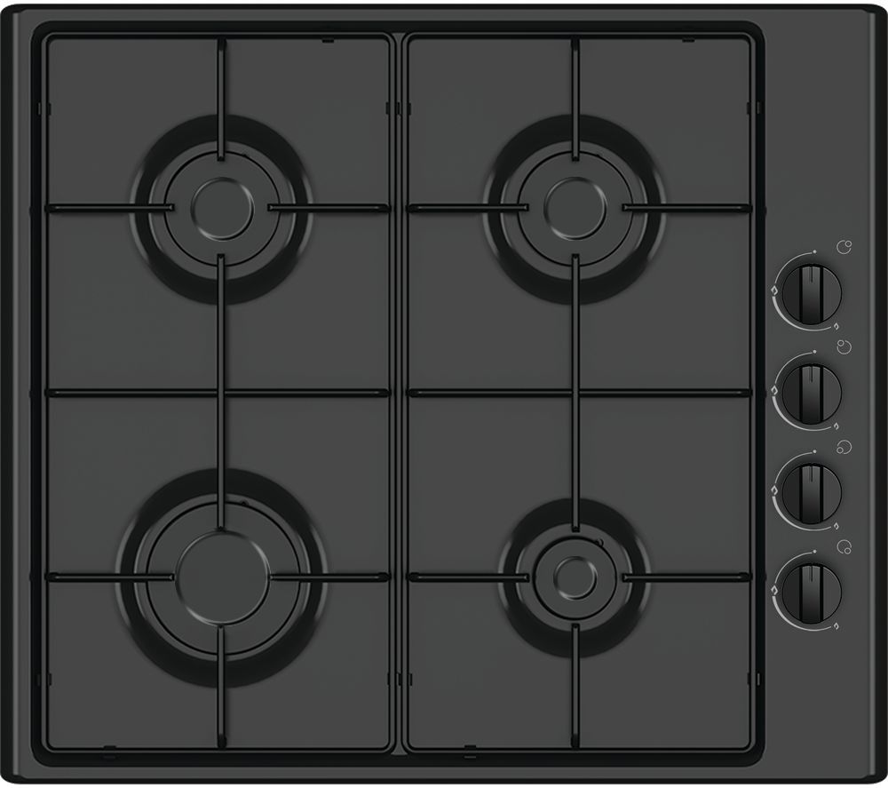 ESSENTIALS  CGHOBB16 Gas Hob  Black Black