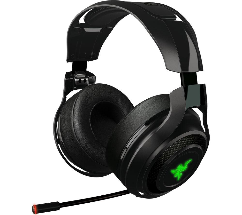 razer man o 39 war wireless 7 1 gaming headset deals pc world. Black Bedroom Furniture Sets. Home Design Ideas