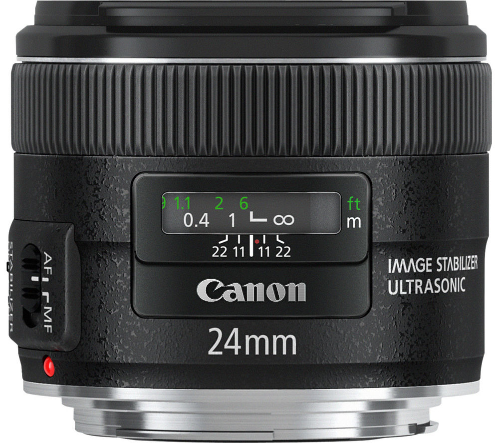 CANON EF 24 mm f/2.8 IS USM Wide-angle Prime Lens