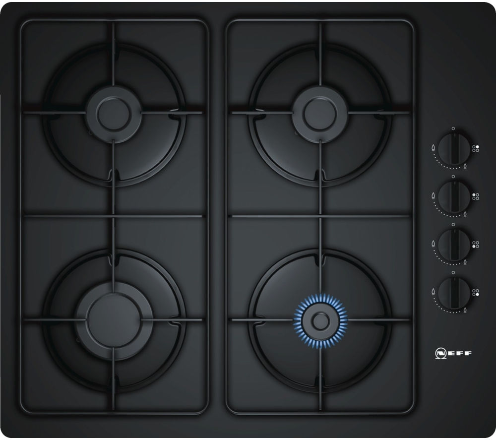 NEFF  T26CR48S0 Gas Hob  Black Black