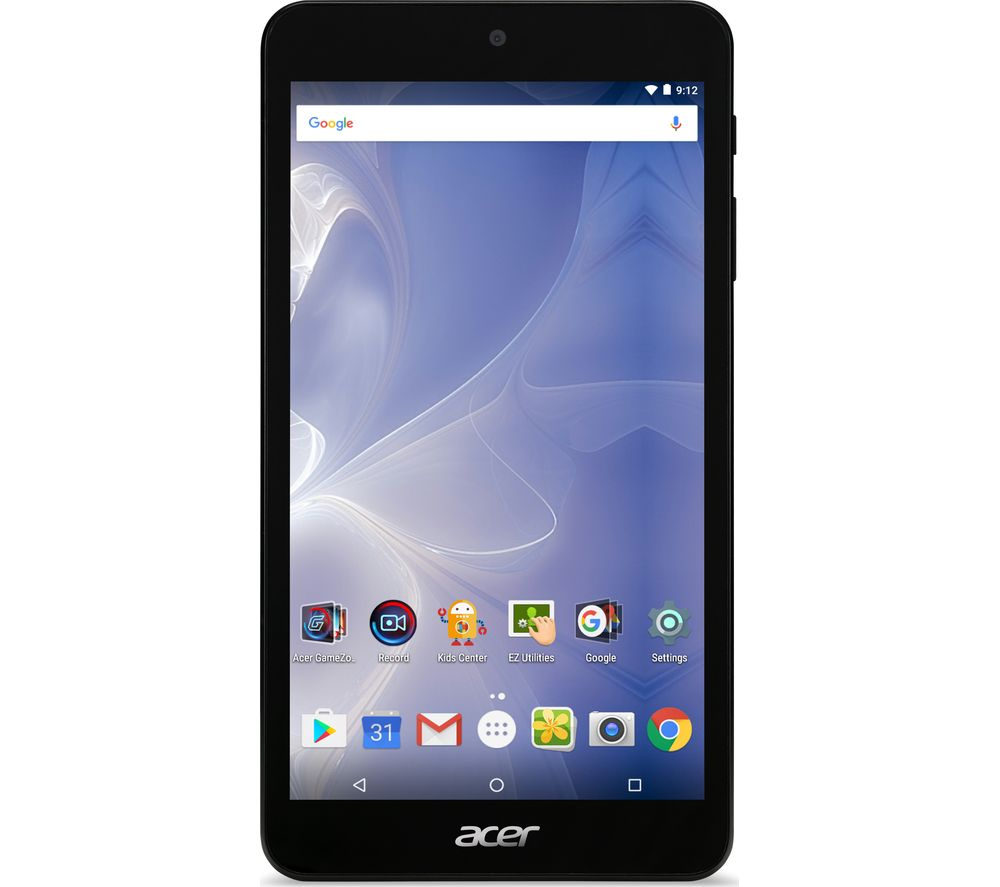 "ACER B1-780 Iconia One 7"" Tablet - 16 GB, Black + LiveSafe Unlimited 2017 - 1 year"