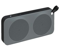 JVC SP-AD60-H Portable Wireless Speaker - Black & Grey