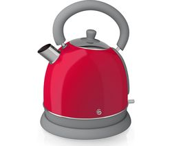 SWAN Retro SK261020RN Traditional Kettle - Red