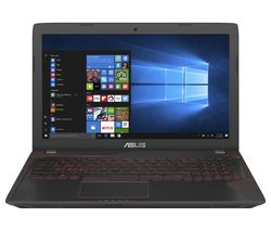 "ASUS Republic of Gamers FX553 15.6"" Gaming Laptop - Black"