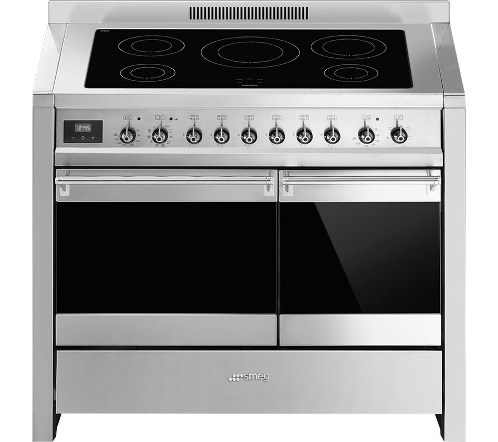 Buy smeg opera 100 cm electric induction range cooker for Table induction 90 cm