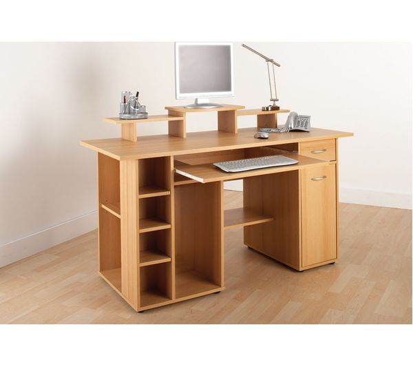 buy alphason san diego desk beech free delivery currys