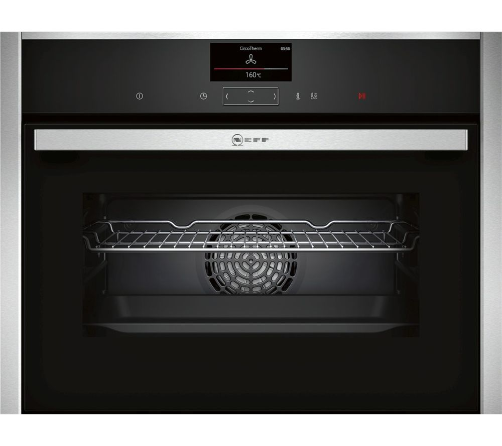 Buy neff c27cs22n0b compact electric oven stainless steel free delivery currys - Neff electric ...