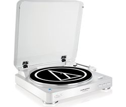 AUDIO TECHNICA AT-LP60BT Bluetooth Turntable - White