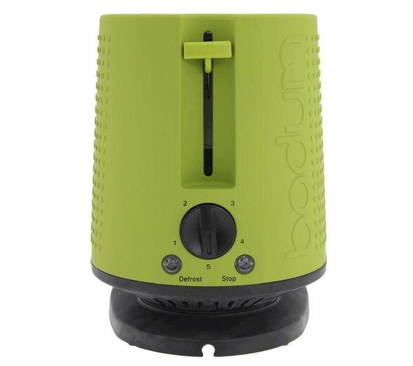 BODUM Bistro 10709 565UK 2 Slice Toaster  Lime Green