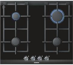 SIEMENS iQ700 ER626PB70E Gas Hob - Black