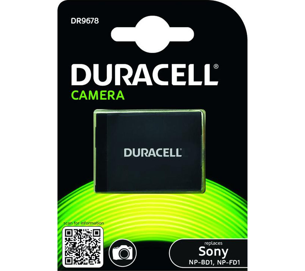 DURACELL DR9678 Rechargeable Camera Battery