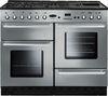 RANGEMASTER Toledo 110 Gas Range Cooker - Silver & Chrome