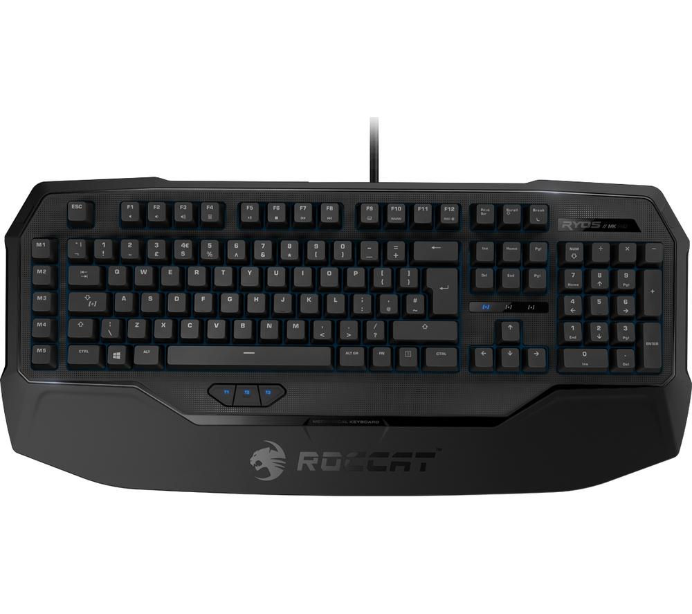 ROCCAT Ryos MK MX Black Gaming Keyboard