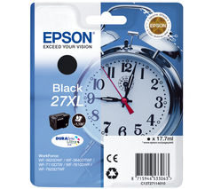 EPSON Alarm Clock 27XL Black Ink Cartridge