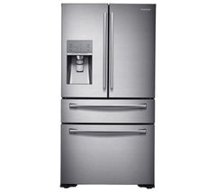 SAMSUNG RF24HSESBSR American-Style Fridge Freezer - Real Stainless