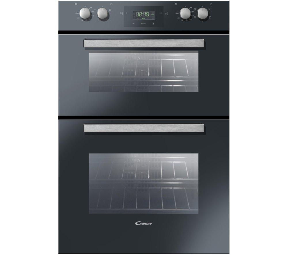 CANDY FDP6109NX Electric Double Oven - Black