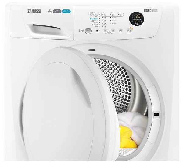 Heat Pump Dryer ~ Buy zanussi zdh pz heat pump condenser tumble dryer
