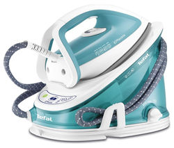 TEFAL Effectis GV6720 Steam Generator Iron - Blue and White