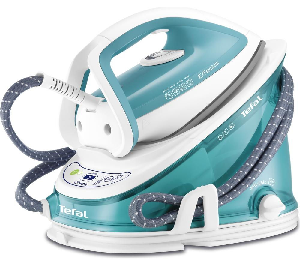 TEFAL  Effectis GV6720 Steam Generator Iron  Blue and White Blue