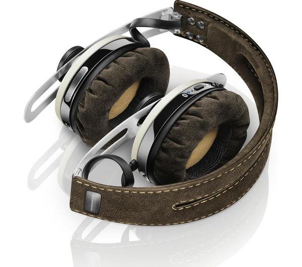 Image of SENNHEISER Momentum 2.0 O/E Wireless Bluetooth Noise-Cancelling Headphones - Ivory